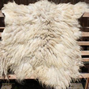 Grotere witte schapenvachten